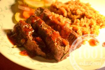 Мачете стейк с пряным маслом, пошаговый рецепт с фото