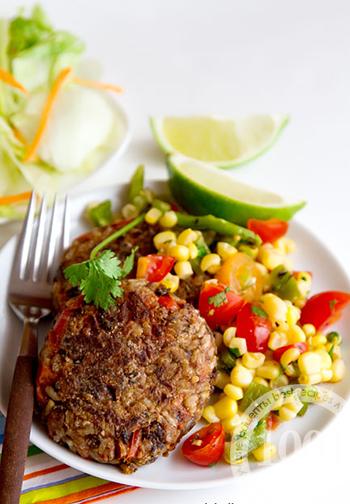 Гречневые котлеты с мясом / Рецепты с фото