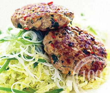 Рецепт куриных котлет с картошкой