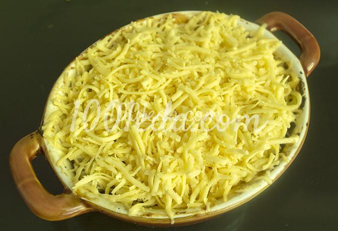 Жюльен из шампиньонов со сметаной, пошаговый рецепт с фото