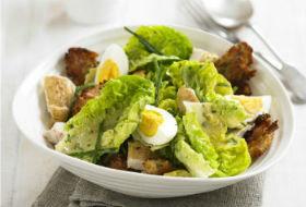 Мясной пасхальный салат