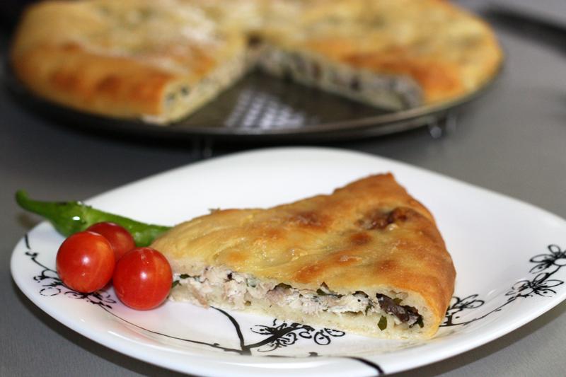 Осетинские пироги с курицей рецепты фото