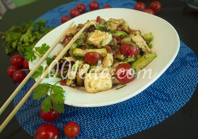 салат с сыром тофу рецепт