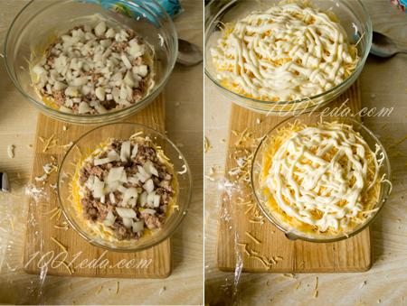 Салат Сырная Мимоза: рецепт с пошаговым фото