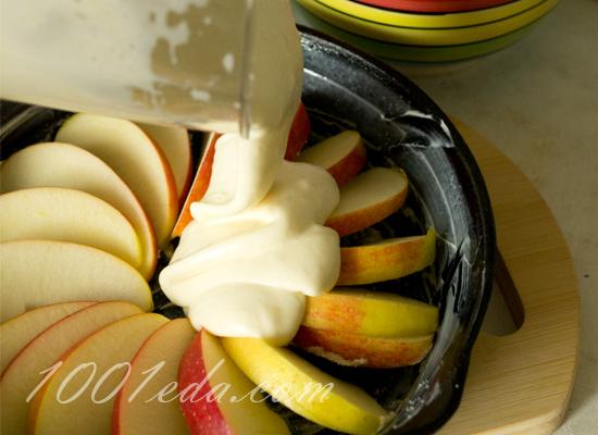 Лапшевник с яблоками и корицей, пошаговый рецепт с фото