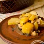 Картошка с маслятами в горшочке: рецепт с пошаговым фото
