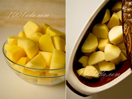 Шашлык из курицы и овощей в пряностях, пошаговый рецепт с фото