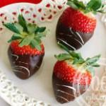 Десерт «Клубника в шоколаде»