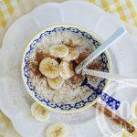 Геркулесовая каша с бананом в мультиварке