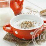 Гречневая каша с молоком в мультиварке