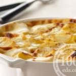 Вкусный картофельный гратен