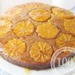 Манник с апельсинами и клюквой