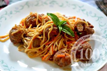 Запеканка из спагетти в духовке рецепт 382