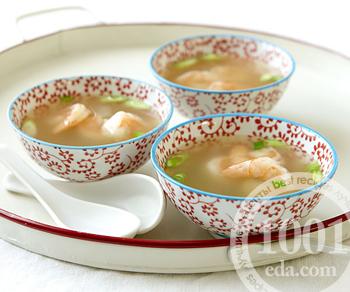 рыбный суп с креветками рецепты