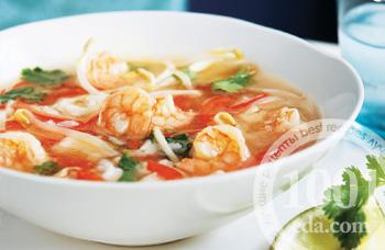 рецепты острых супов с креветками