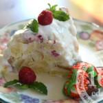 Малиновый торт кусочками: рецепт с пошаговым фото