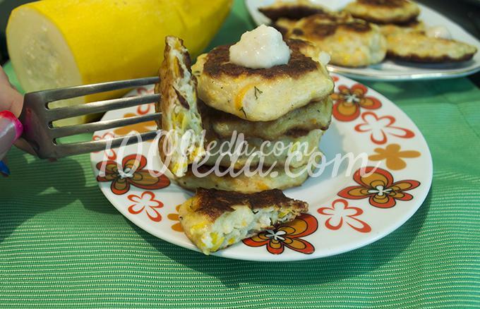 Оладьи из кабачков и фарша рецепты с фото
