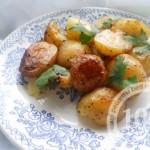 Молодой картофель в мультиварке: рецепт с пошаговым фото