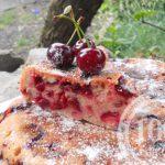 Вишневый бисквит со сгущенным молоком: рецепт с пошаговым фото