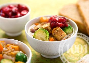 Суп-пюре овощной с брюссельской капустой – кулинарный рецепт
