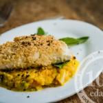 Рыба на подушке из овощей с базиликом: рецепт с пошаговым фото