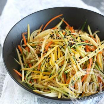 Азиатский овощной салат