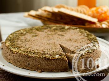 пирог с печенью и рисом рецепт с фото