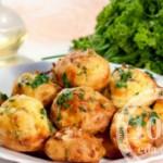 Картофельные эклеры