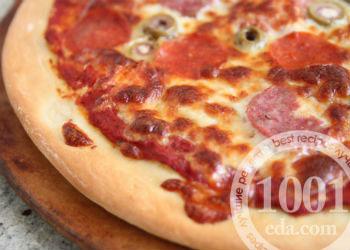 рецепт быстрой пиццы в мультиварке