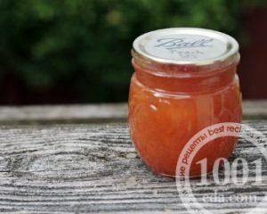 Рецепт персикового масла с корицей, гвоздикой и имбирем