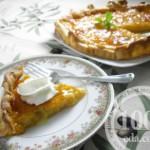Абрикосовый пирог с имбирем
