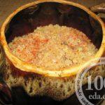 Каша из булгура с мясом в горшочке: рецепт с пошаговым фото