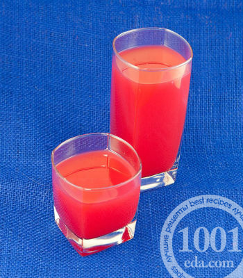 Рецепт киселя из арбуза