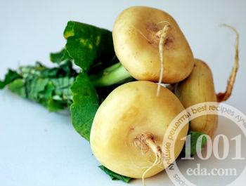 Овощное рагу с репой