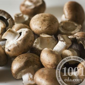 Овощное рагу с грибами и мясом