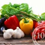 Овощное рагу с копченостями