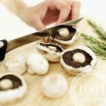 Овощное рагу с грибами и рыбой
