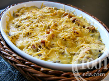 Овощное рагу в горшочках с кабачками и баклажанами
