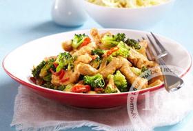Детское овощное рагу из брокколи