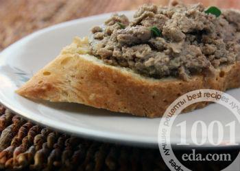 как приготовить паштет из свиной печени вареной