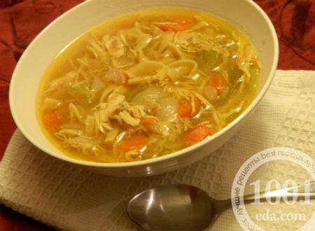 приготовление вермишелевого супа с курицей рецепты