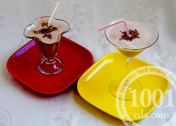 Бананово-шоколадный коктейль: рецепт с пошаговым фото