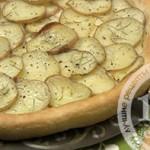 Фокачча с картофелем