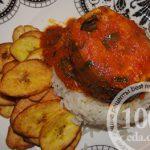 Скумбрия с картофелем в горшочках