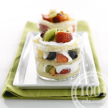 Тирамису с фруктами