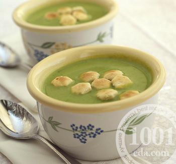 Веганский гороховый суп