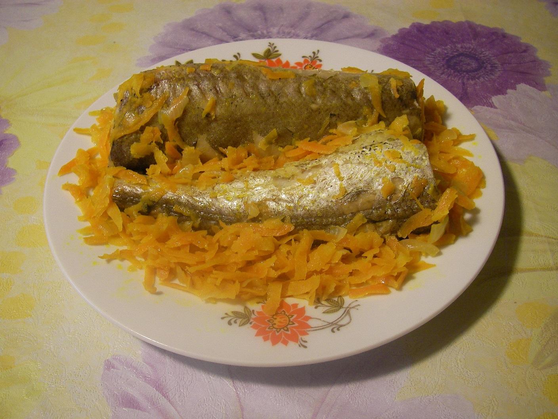 Рыба под овощами рецепт пошагово