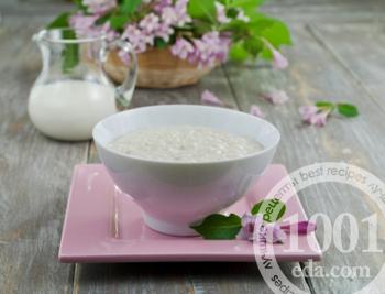 Каша на молоке. Рецепт манной, пшенной, рисовой и овсяной каши на молоке. Пошаговые рецепты с фото на