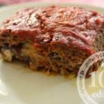 Мясной рулет с пармезаном и грибами: рецепт с пошаговым фото