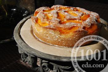 Пирог из пряного теста с яблочно-абрикосовой начинкой – кулинарный рецепт